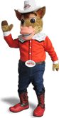Texas Auto Center mascot image