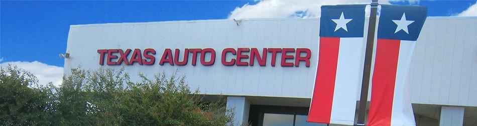 Texas Auto Center Banner